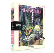 New York Puzzle Company New York Puzzle Co. The New Yorker: Ghouls Rush In Puzzle 1000pcs
