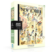 New York Puzzle Company New York Puzzle Co. The New Yorker: Lower East Side Puzzle 1000pcs