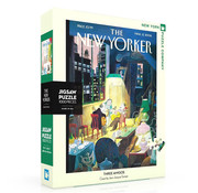 New York Puzzle Company New York Puzzle Co. The New Yorker: Three Amigos Puzzle 1000pcs