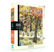 New York Puzzle Company New York Puzzle Co. The New Yorker: Leaf Peepers Puzzle 1000pcs