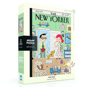 New York Puzzle Company New York Puzzle Co. The New Yorker: First Date Puzzle 500pcs
