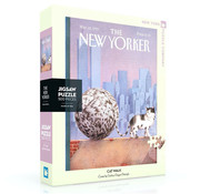 New York Puzzle Company New York Puzzle Co. The New Yorker: Cat Walk Puzzle 500pcs