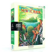 New York Puzzle Company New York Puzzle Co. The New Yorker: Planthattan Puzzle 1000pcs