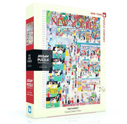 New York Puzzle Company New York Puzzle Co. The New Yorker: The Market Puzzle 1000pcs