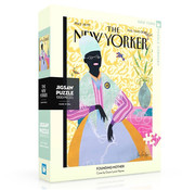 New York Puzzle Company New York Puzzle Co. The New Yorker: Founding Mother Puzzle 1000pcs