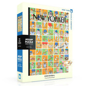 New York Puzzle Company New York Puzzle Co. The New Yorker: Inside Baseball Puzzle 1000pcs