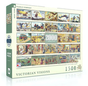 New York Puzzle Company New York Puzzle Co. Victorian Visions Puzzle 1500pcs