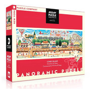 New York Puzzle Company New York Puzzle Co. MTA: Coney Island Panoramic Puzzle 1000pcs