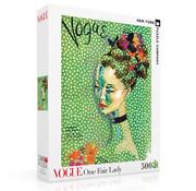 New York Puzzle Company New York Puzzle Co. Vogue: One Fair Lady Puzzle 500pcs