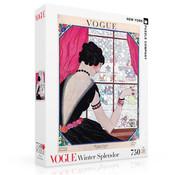 New York Puzzle Company New York Puzzle Co. Vogue: Winter Splendor Puzzle 750pcs