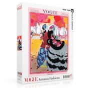 New York Puzzle Company New York Puzzle Co. Vogue: Autumn Fashions Puzzle 1000pcs