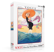 New York Puzzle Company New York Puzzle Co. Vogue: How the Wind Blows Puzzle 1000pcs