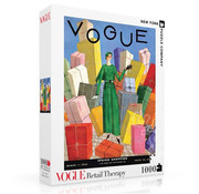 New York Puzzle Company New York Puzzle Co. Vogue: Retail Therapy Puzzle 1000pcs