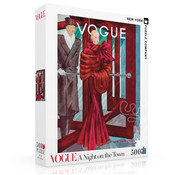 New York Puzzle Company New York Puzzle Co. Vogue: A Night on the Town Puzzle 500pcs