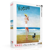 New York Puzzle Company New York Puzzle Co. Vogue: A Place in the Sun Puzzle 500pcs