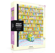 New York Puzzle Company New York Puzzle Co. The New Yorker: Shelved Puzzle 750pcs