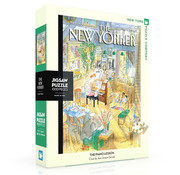 New York Puzzle Company New York Puzzle Co. The New Yorker: The Piano Lesson Puzzle 1000pcs