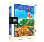 New York Puzzle Company New York Puzzle Co. The New Yorker: The Lighthouse Puzzle 500pcs