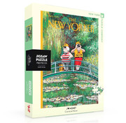 New York Puzzle Company New York Puzzle Co. The New Yorker: J'aime Monet Puzzle 750pcs