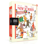 New York Puzzle Company New York Puzzle Co. The New Yorker: Best in Show Puzzle 500pcs