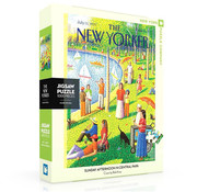 New York Puzzle Company New York Puzzle Co. The New Yorker: Sunday Afternoon in Central Park Puzzle 1000pcs