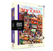 New York Puzzle Company New York Puzzle Co. The New Yorker: Main Street Puzzle 1000pcs