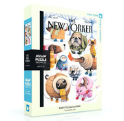 New York Puzzle Company New York Puzzle Co. The New Yorker: Baby It's Cold Outside Puzzle 1000pcs
