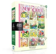 New York Puzzle Company New York Puzzle Co. The New Yorker: Farm Calendar Puzzle 1000pcs