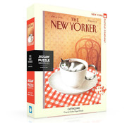 New York Puzzle Company New York Puzzle Co. The New Yorker: Cattuccino Puzzle 1000pcs