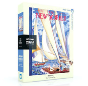 New York Puzzle Company New York Puzzle Co. The New Yorker: Regatta Puzzle 1000pcs
