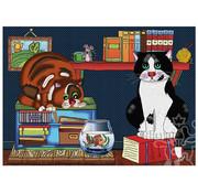 JaCaRou Puzzles JaCaRou Cat Love Puzzle 500pcs