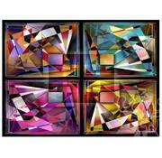 JaCaRou Puzzles JaCaRou Bling Bling Abstract Puzzle 1000pcs