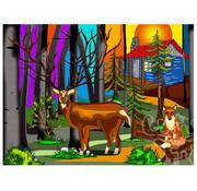 JaCaRou Puzzles JaCaRou My Deer Friend Puzzle 1000pcs