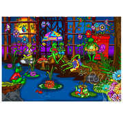 JaCaRou Puzzles JaCaRou Frog's Summer Camp Puzzle 1000pcs