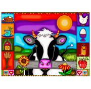 JaCaRou Puzzles JaCaRou Sunset Hill Farm Puzzle 1000pcs