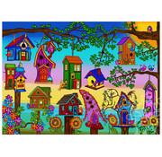 JaCaRou Puzzles JaCaRou Bird Houses Puzzle 1000pcs