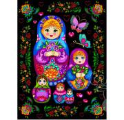 JaCaRou Puzzles JaCaRou Russian Dolls Puzzle 1000pcs