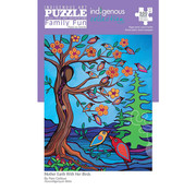 Canadian Art Prints Indigenous Collection: Mother Earth With Her Birds Family Puzzle 500pcs