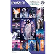 Canadian Art Prints Indigenous Collection: 13 Moons Puzzle 1000pcs