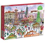 Galison Galison Christmas Market Puzzle 1000pcs