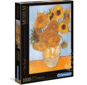 Clementoni Clementoni Van Gogh - Sun Flowers Puzzle 1000pcs