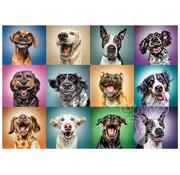 Trefl Trefl Funny Dog Portraits Puzzle 1000pcs