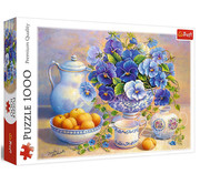 Trefl Trefl Blue Bouquet Puzzle 1000pcs