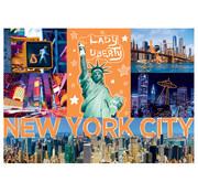 Trefl Trefl Neon Color Line: Neon City Puzzle 1000pcs