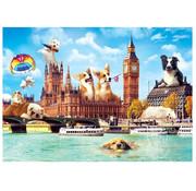 Trefl Trefl Funny Cities: Dogs in London Puzzle 1000pcs