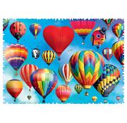 Trefl Trefl Crazy Shapes! Colourful Balloons Puzzle 600pcs