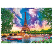 Trefl Trefl Crazy Shapes! Sky Over Paris Puzzle 600pcs