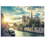 Trefl/Pierre Belvedere Trefl Notre-Dame on the Seine Puzzle 1000pcs