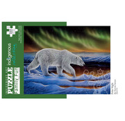 Canadian Art Prints Indigenous Collection: Polar Night Family Puzzle 500pcs