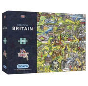 Gibsons Gibsons Beautiful Britain Puzzle 1000pcs